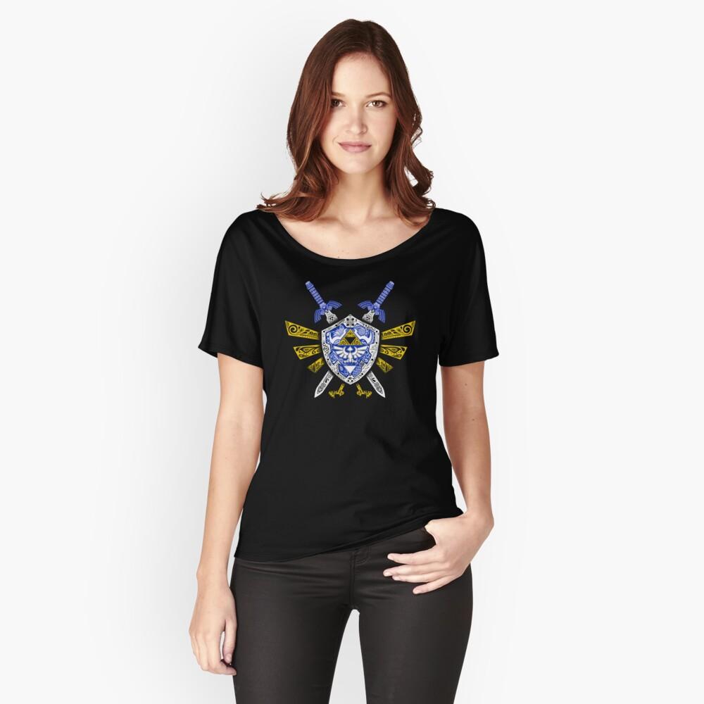 Leyenda de los héroes - Zelda Camiseta ancha