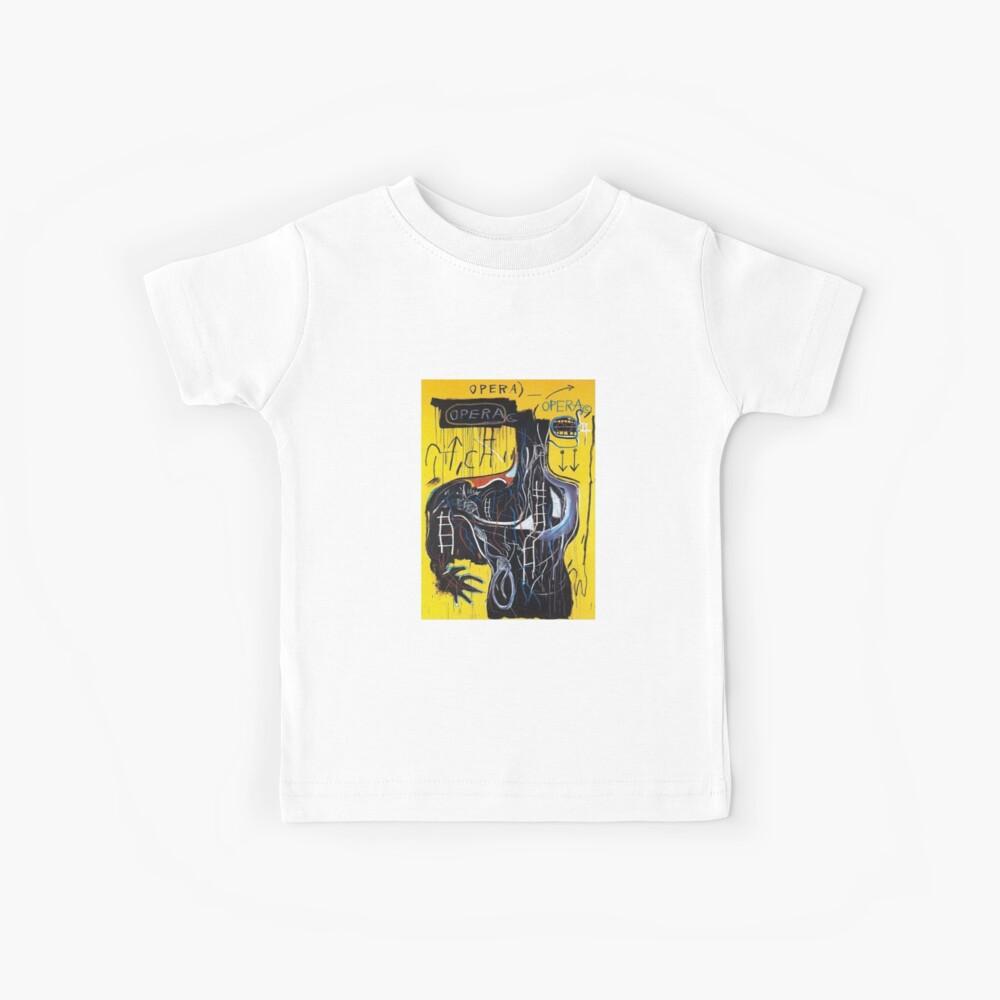 Basquiat Jeder, der Worte spricht Kinder T-Shirt