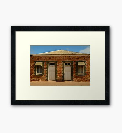 Elements of Terowie,South Australia Framed Print