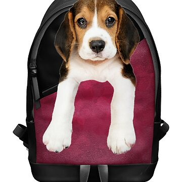 Beagle Puppy Backpack by CafePretzel