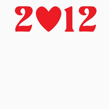 2012 Heart - Red Groove by opoeian
