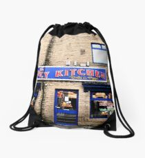 Time for a take away curry Drawstring Bag