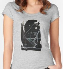 buddha smiles Women's Fitted Scoop T-Shirt