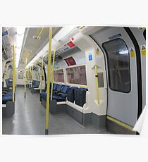 Northern Line Train Emptiness Poster