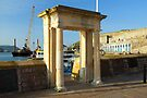 Mayflower Steps: Plymouth Barbican. UK. by DonDavisUK