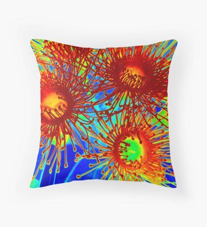 Gum blossom - a little brighter Throw Pillow