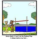 Fosbury Flop by Hagen
