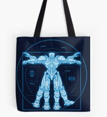 Vitruvian Jaeger Tote Bag