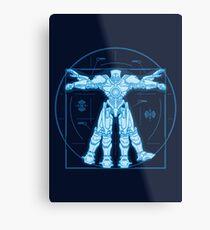 Vitruvian Jaeger Metal Print