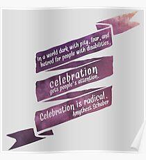 Radical Celebration Poster