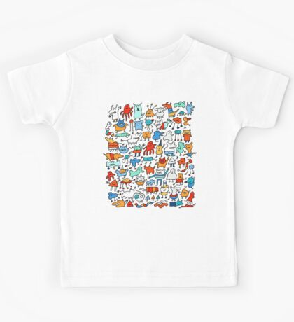 Mad Monster Friends Kids Clothes