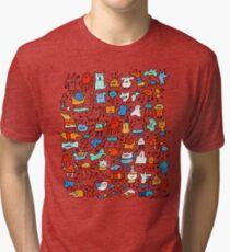 Mad Monster Friends Tri-blend T-Shirt