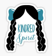 Anne Of Green Gables, Diana Kindred Spirit Sticker