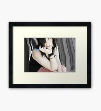 Dull Framed Print