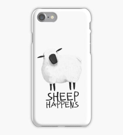 Sheep Happens iPhone Case/Skin