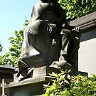 a beloved man, Pere Lachaise cemetery, Paris by BronReid