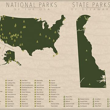 US National Parks - Delaware by FinlayMcNevin