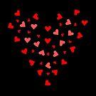 Valentinstag, rote Herzen, Herz, Liebe,  von rhnaturestyles