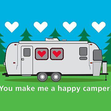 You make me a happy camper! by Landrigan