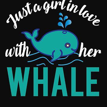 Girl whale love by tarek25