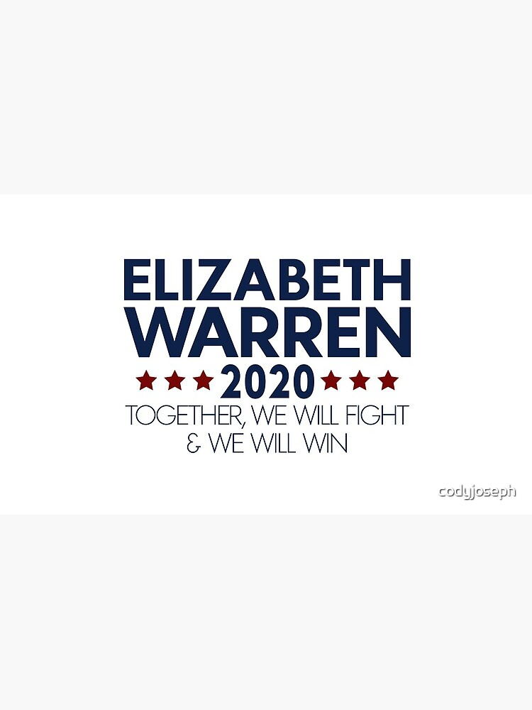 Elizabeth Warren for President 2020 by codyjoseph