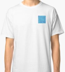 clear blue water Classic T-Shirt