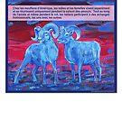 Ram tough (Le mouflon d'Amérique) by Gwenn Seemel