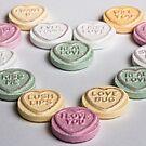 Love Hearts by Jon Bradbury
