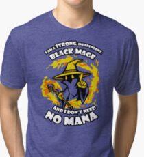 Black Mage Funny TShirt Epic T-shirt Humor Tees Cool Tee Tri-blend T-Shirt