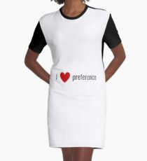 preference Graphic T-Shirt Dress