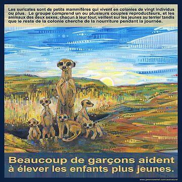 Une entreprise familiale (Le suricate) by gwennpaints