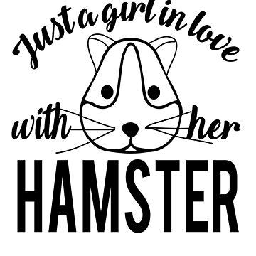 Girl hamster love by tarek25