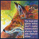Outfox (Red fox) by Gwenn Seemel