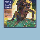 The kiss (Bonobo) by Gwenn Seemel