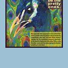 Impractical fashion, guy edition (Blue peafowl) by Gwenn Seemel