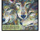 Not necessarily a lone wolf (Gray wolf) by Gwenn Seemel
