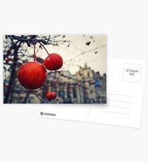 red berries Postcards