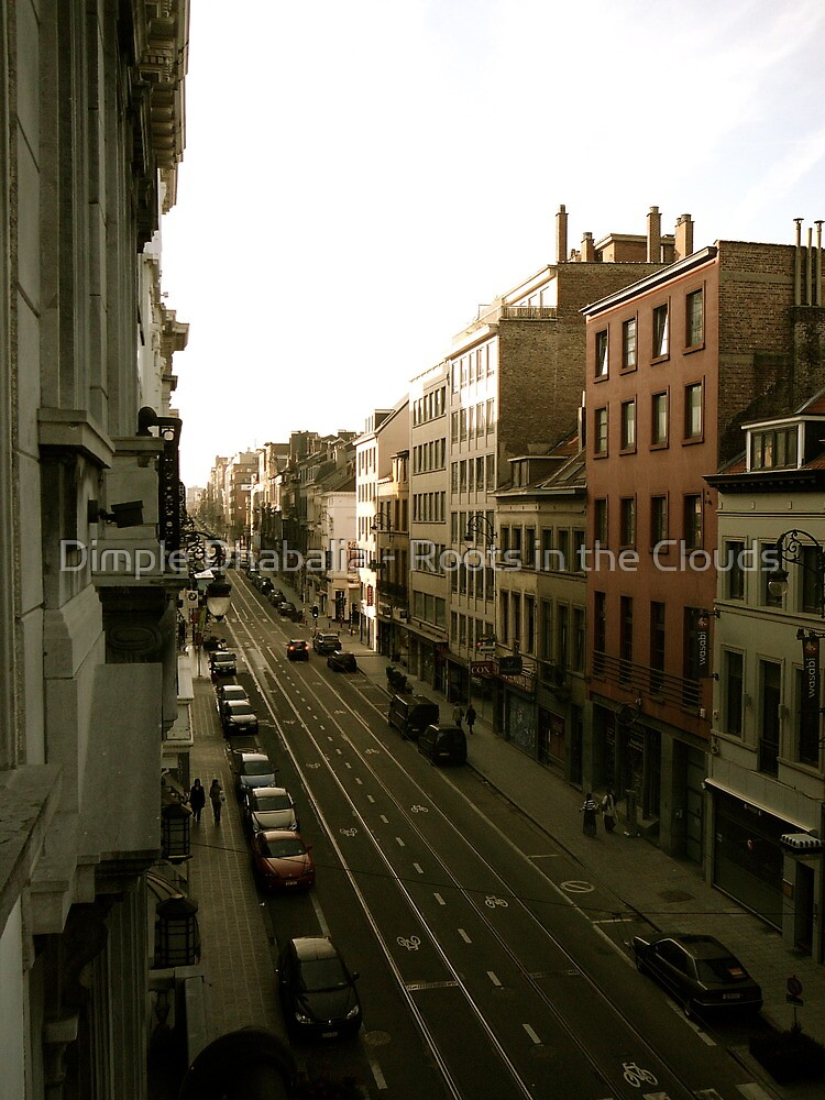 Sunday morning in Brussels by Dimple Dhabalia