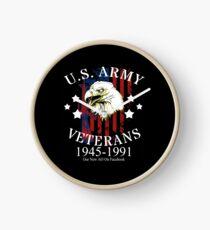 Reloj Veteranos del ejército de los Estados Unidos