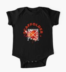 Scaffolding occupations shirt Short Sleeve Baby One-Piece