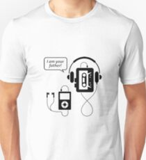 "Funny Walkman ""I Am Your Father"" Unisex T-Shirt"