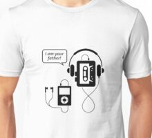 """Funny Walkman """"I Am Your Father"""" Unisex T-Shirt"""