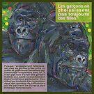Don't ask, don't tell (Le gorille de montagne) by Gwenn Seemel