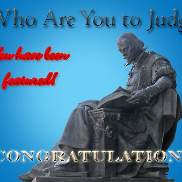 Who Are You To Judge Banner by elisab