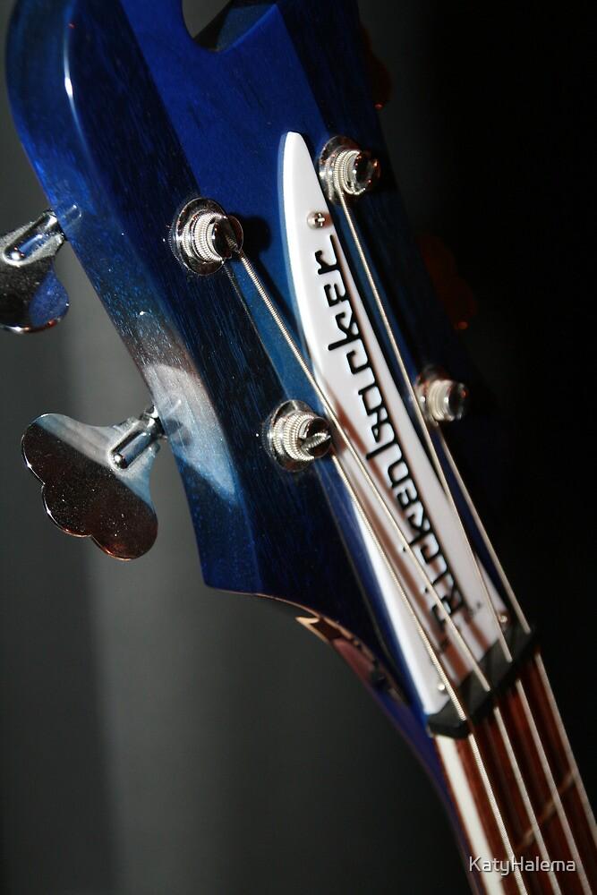 Ric's Rare Blue Rickenbacker Bass II by KatyHalema