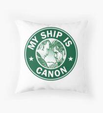 Hannigram Coffee Mug Throw Pillow