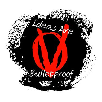 Ideas Are Bulletproof  by GraffitiBox