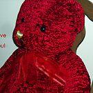 I Love You, Red Teddybear! by debbiedoda