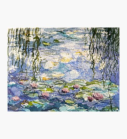 Monet's lilies at Giverny Photographic Print