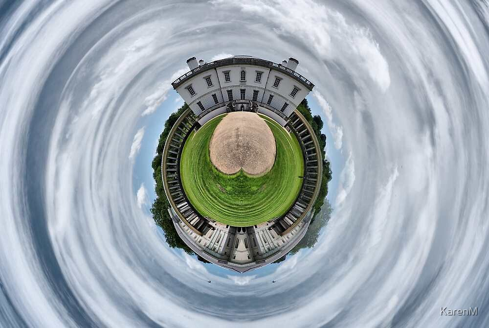 The Queen's House, Greenwich, in the Round by KarenM